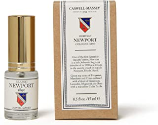 Caswell-Massey Classic Newport Cologne Spray - Fresh Seaside Fragrance For Men With Sandalwood, Cedar, and Citrus Scent - Travel Size, 15 ml