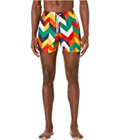 Missoni Mare - Printed Zigzag Swim Trunks