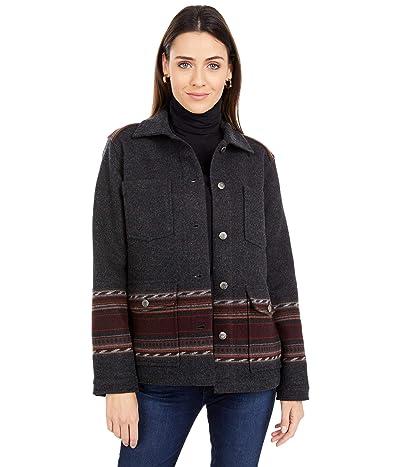 Pendleton Western Horizons Wool Coat (Santa Rosa Jacquard) Women