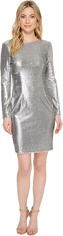 Aidan Mattox - Sequin Sheath Dress