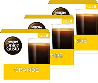 NESCAFÉ DOLCE GUSTO Grande Coffee Pods, 30 Capsules (Pack of 3 - Total 90 capsules, 90 Servings)
