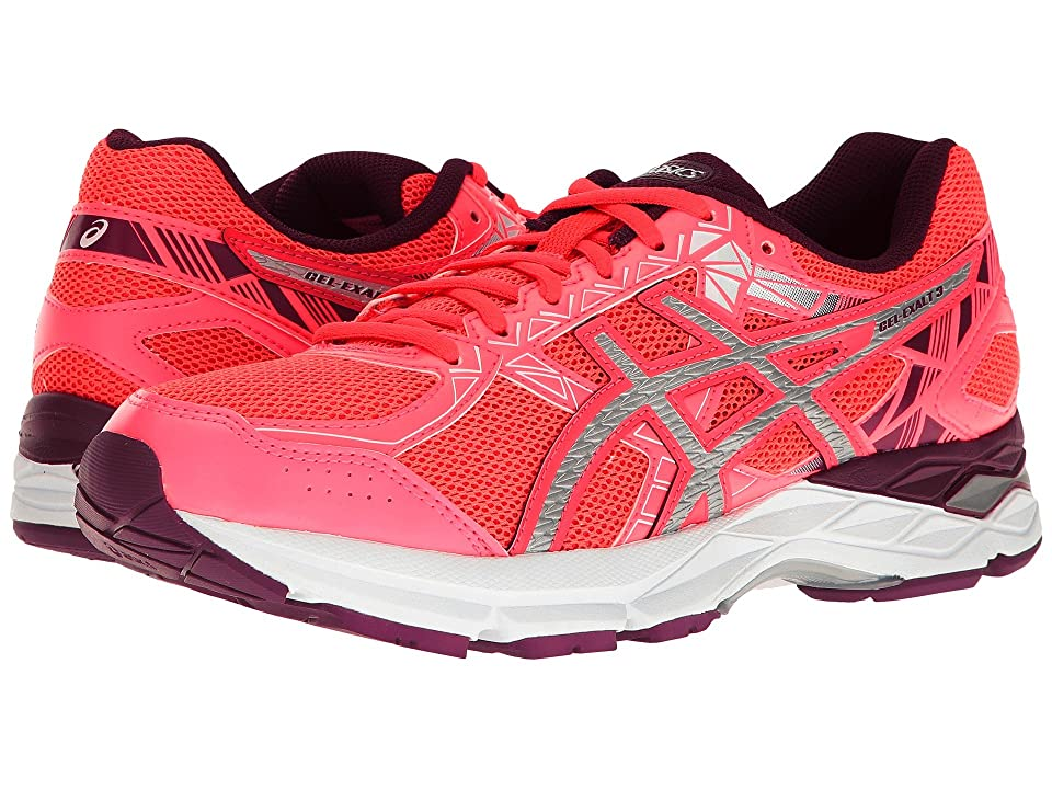 ASICS Gel-Exalttm 3 (Diva Pink/Silver/Dark Purple) Women