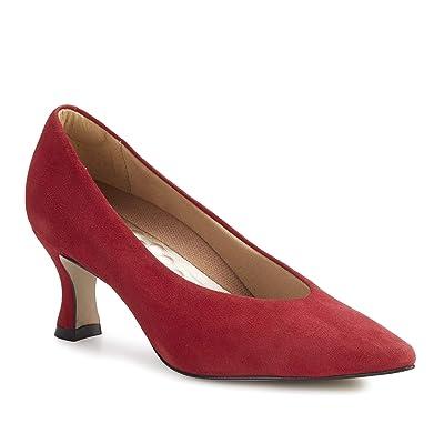 Walking Cradles Sasha (Red Suede) Women