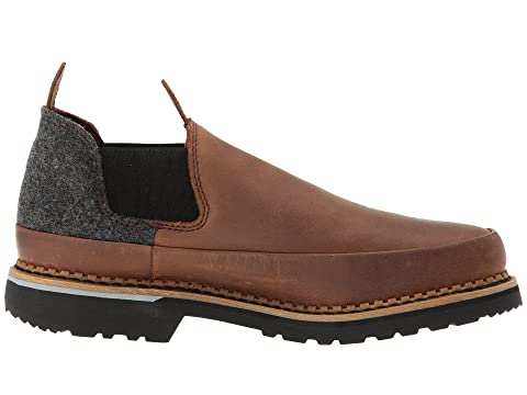 Georgia Boot Pendleton Romeo Brown/Dark Grey Free Shipping Classic Newest For Sale cSGSOPqw