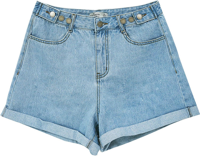 Jean pour femme - Taille haute - Jambe large - Femme - Jean pour femme Blcak