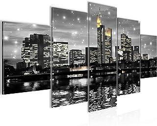 Runa Art - Bilder Frankfurt am Main 200 x 100 cm 5 Teilig XX