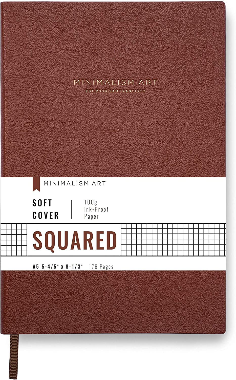Minimalism specialty shop Art Classic Soft Cover Notebook Medium Journal Ranking TOP3 Size
