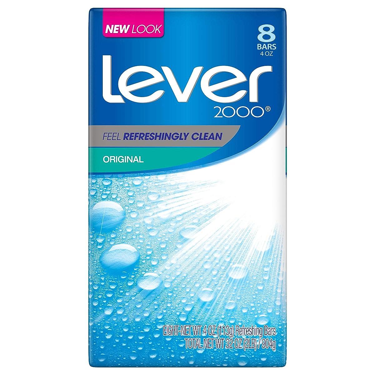 繁殖クルー見つけたLever 2000 石鹸、オリジナル4オズ、8バー