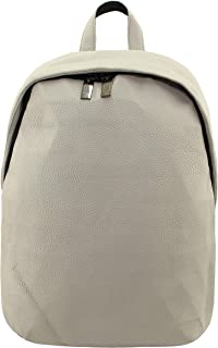 """school,college Backpack, Business Backpack, Water Resistant,Travel Day Backpack, Fit Up to 13"""" Laptop Tablet,leather Backpack,Off-white"""