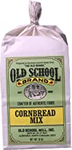 Old School Brand Cornbread Mix (Non-GMO) - 16 Ounce Bag - A great accompaniment to fish, chili, BBQ, chicken and other holiday meals!