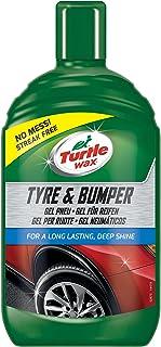 Turtle Wax FG7833 Gel Limpiador Gomas, 500 ml Limpia y restaura neumáticos, cauecho Exterior y plástico, Verde
