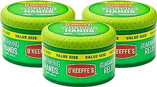 (オーキーフス) O'Keeffe'sハンドクリーム Working Hands お得サイズ 3 - Pack K0680001-3 3