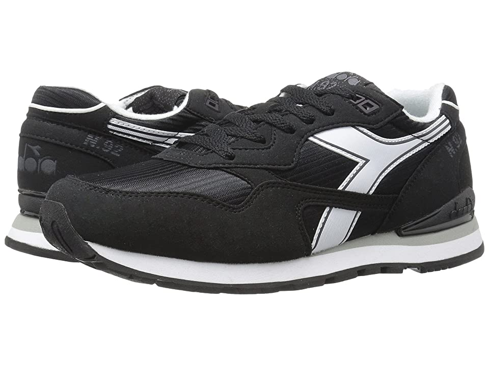 Diadora N-92 (Black/White) Athletic Shoes
