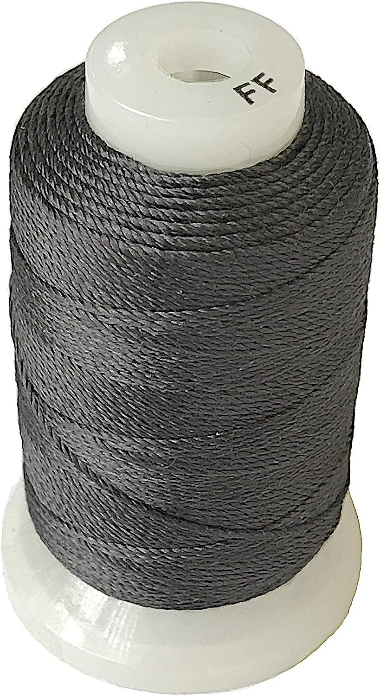 Simply Silk Beading New Free Shipping Daily bargain sale Thread Cord Size FF Dark Grey 0.015 0.3 Inch