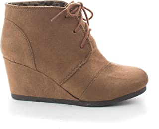 e752762073bc Amazon.com  Wedge - Ankle   Bootie   Boots  Clothing