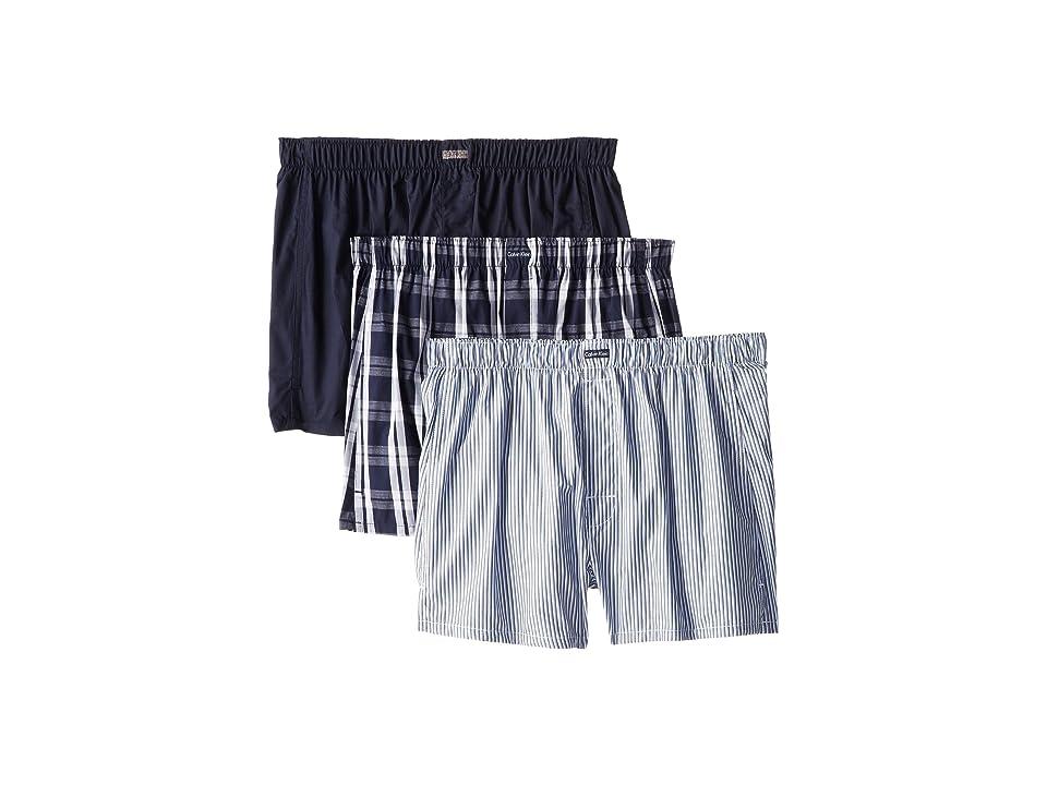 Calvin Klein Underwear - Calvin Klein Underwear 3-Pack Woven Boxers U1732