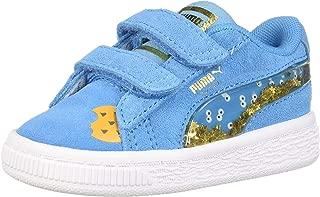 Kids' Sesame Street 50 Suede Velcro Sneaker