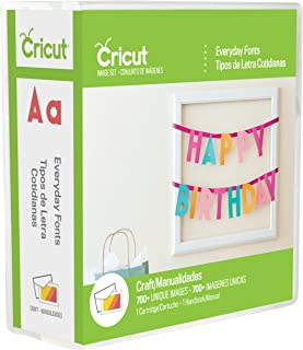Cricut 2002372 Everyday Font Cartridge for Craft