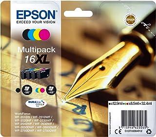 Epson C13T16364022 Inchiostro, Multicolore, 4 Pezzi