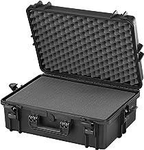 Panaro Max Cases kunststof koffer met schuimstof, hoge dichtheid, zwart, M