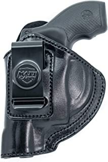 Maxx Carry Inside The Waistband Leather Holster for S&W J Frame 1-7/8