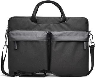 Laptop Shoulder Bag Case, Waterproof Shockproof Laptop Carrying Bag Case Compatible 13-14 Inch MacBook Pro, MacBook Air, Ultrabook Netbook Tablet