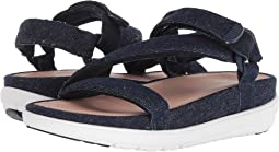 Loosh Luxe™ Z-Strap Denim Sandals