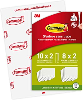 Command PH203-18NA Bandes de suspension Blanc Taille S M