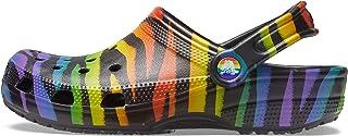 Crocs Men's and Women's Classic Animal Clog Zebra and Leopard Print Shoes