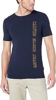 Calvin Klein Jeans Men's Vertical Institutional Logo Slim Tee