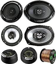 3 Pair Car Speaker Package of 2X Kenwood KFC1665S 6.5