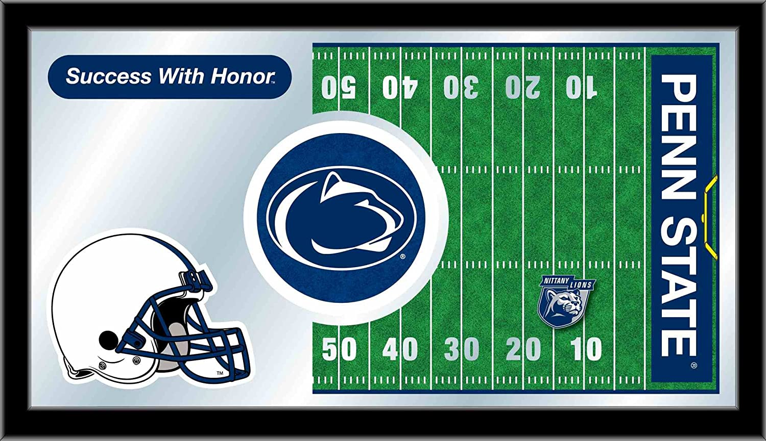 Holland Bar Stool NCAA Penn State Nittany Lions 15 x 26-Inch Football Mirror