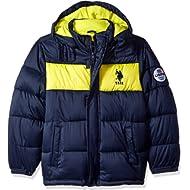 U.S. Polo Assn. Boys' Sporty Bubble Jacket