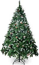 Best unlit christmas tree with pine cones Reviews