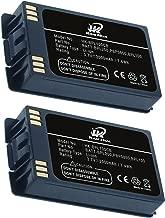 BPL200, BPL100, PBP0850, 2000mAh KAMHUA Battery for POLYCOM 6020, 6030, 8020, 8030, PBP1300, PBP1850, TB100, (2 Battery)