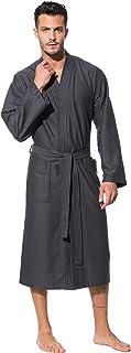 Morgenstern Kimono Bademantel Herren Saunamantel leicht