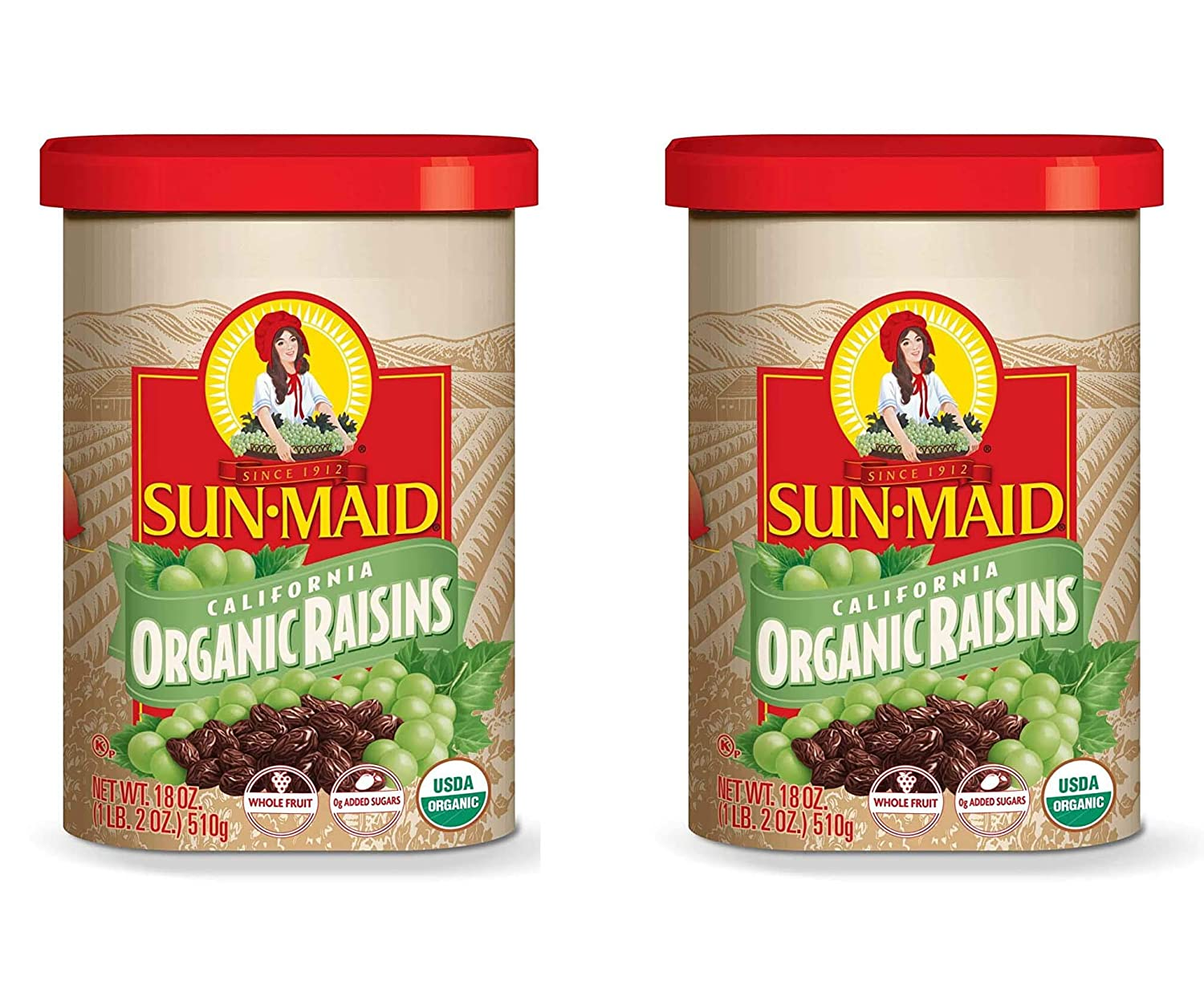 70% OFF Outlet Sun-Maid Organic Raisins Dried For Healthy Fruit Gorgeous Snacks