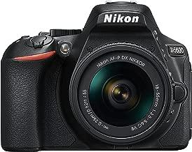 Nikon D5600 DX-format Digital SLR w/ AF-P DX NIKKOR 18-55mm f/3.5-5.6G VR, Touchscreen, Wi-Fi, Bluetooth (Renewed)