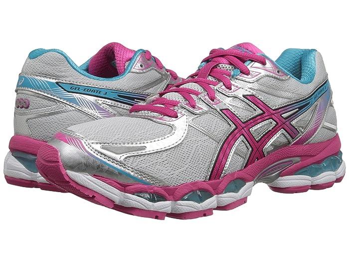 ASICS  Gel-Evatetm 3 (Lightning/Hot Pink/Blue) Womens Running Shoes
