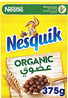 Nesquik Organic Cereals Made With Whole Grain, 375 gm