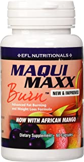 Maqui Maxx Burn – MAQUI BERRY/AFRICAN MANGO Advanced Fat Burning and Weight Loss Formula.