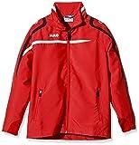 Jako Kinder Präsentationsjacke Performance Jacke, rot/Weiß/Schwarz, 152