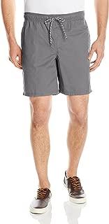 twill jogger shorts