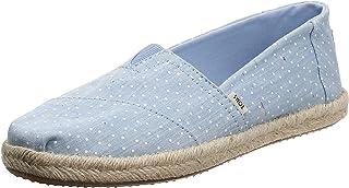 حذاء البارجاتا للنساء من تومز, (أزرق (أزرق)), 41 EU