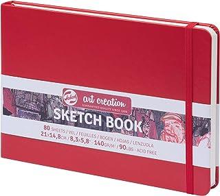 TALENS Sketchbook Sketchbook 21x14.8cm, 160g/m² 80Pages Red