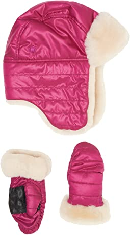 UGG Kids - Nylon Hat/Mitten Gift Set (Toddler/Little Kids)