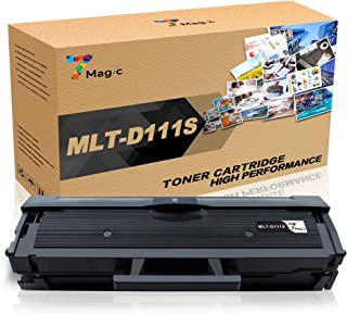 7Magic Compatible Toner Cartridge Replacement for Samsung MLT-D111S Work with Samsung Xpress M2020W M2022W M2070F M2070FW M2070W Laser Printer (Black, 1-Pack)