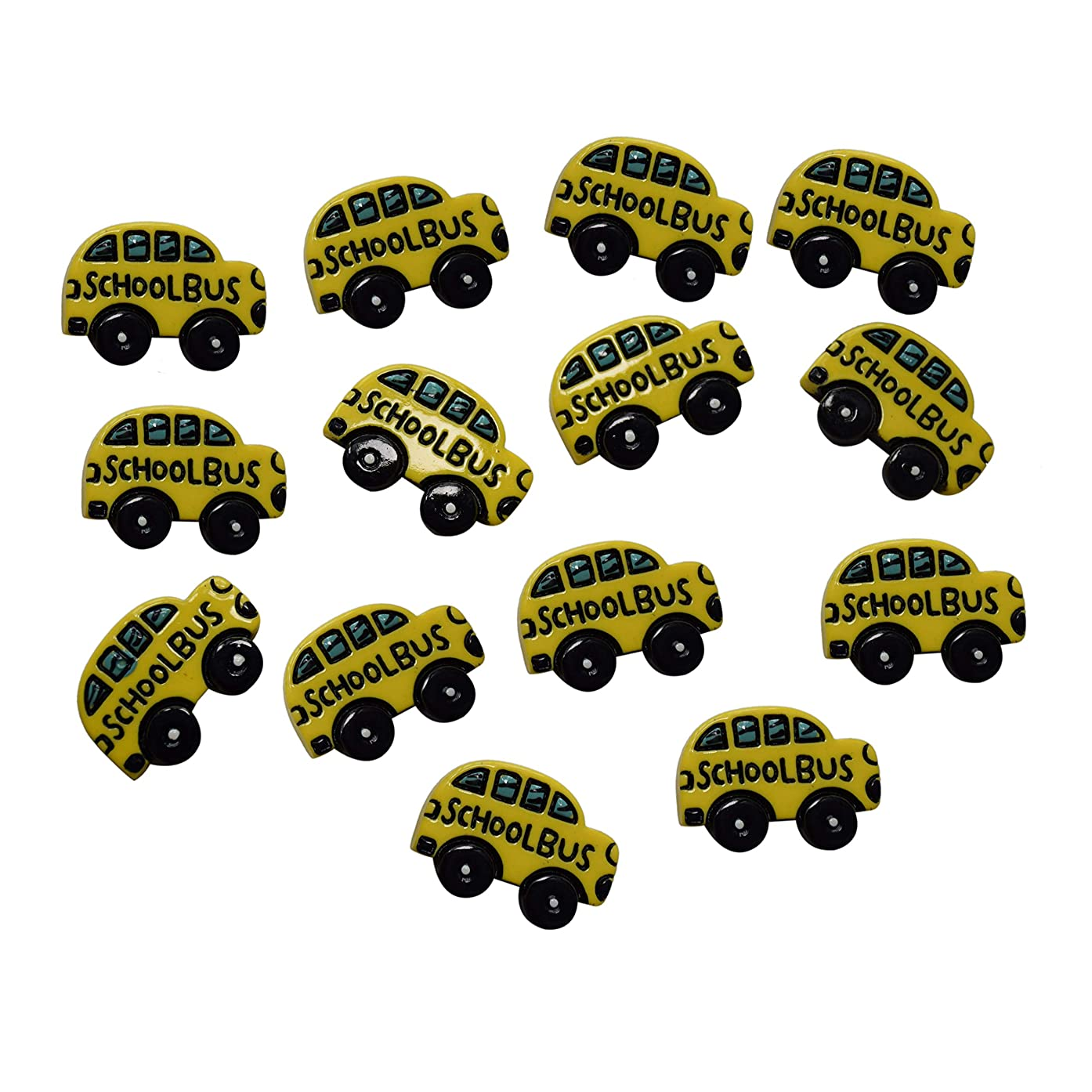 AMOBESTER Sime Charms School Bus 30Psc Decorative Slime Beads For Arts Crafts Ornament