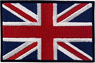 Coloured Large Union Flag Patch