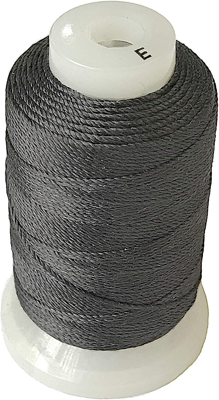 Simply Silk Boston Mall Beading Max 59% OFF Thread Cord Size Inch 0.0128 E Grey 0.3 Dark